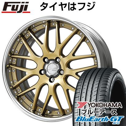 タイヤはフジ 送料無料 WORK ワーク ランベック LM1 7.5J 7.50-18 YOKOHAMA ブルーアース GT AE51 235/50R18 18インチ サマータイヤ ホイール4本セット