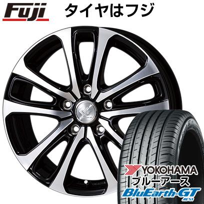 タイヤはフジ 送料無料 TOPY トピー セレブロ LF5 6.5J 6.50-16 YOKOHAMA ブルーアース GT AE51 215/60R16 16インチ サマータイヤ ホイール4本セット