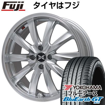 タイヤはフジ 送料無料 PREMIX プレミックス ルマーニュ(シルバーポリッシュ)限定 7J 7.00-17 YOKOHAMA ブルーアース GT AE51 205/45R17 17インチ サマータイヤ ホイール4本セット