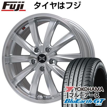 タイヤはフジ 送料無料 PREMIX プレミックス ルマーニュ(シルバーポリッシュ)限定 7J 7.00-16 YOKOHAMA ブルーアース GT AE51 215/65R16 16インチ サマータイヤ ホイール4本セット