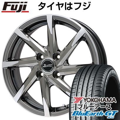 タイヤはフジ 送料無料 BIGWAY ビッグウエイ B-WIN ゼナート 8(SBCポリッシュ) 6.5J 6.50-16 YOKOHAMA ブルーアース GT AE51 215/60R16 16インチ サマータイヤ ホイール4本セット