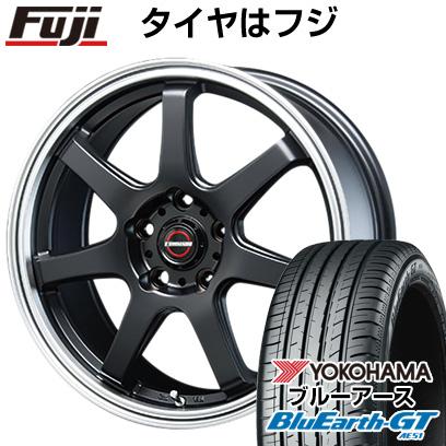 6.00-15 タイヤはフジ YOKOHAMA AE51 ブルーアース ホイール4本セット タイプS-07 GT 205/65R15 15インチ BLEST 送料無料 ユーロマジック 6J ブレスト サマータイヤ