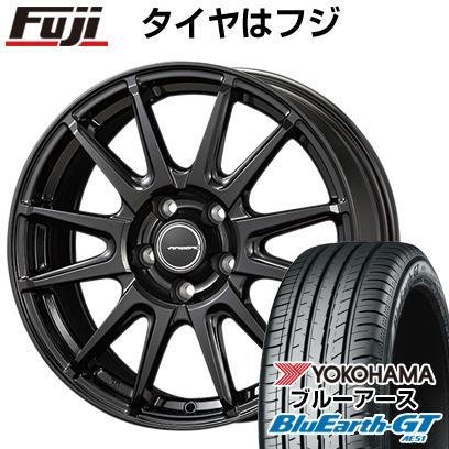 タイヤはフジ 送料無料 KOSEI コーセイ エアベルグ レバンナ 6.5J 6.50-16 YOKOHAMA ブルーアース GT AE51 195/55R16 16インチ サマータイヤ ホイール4本セット