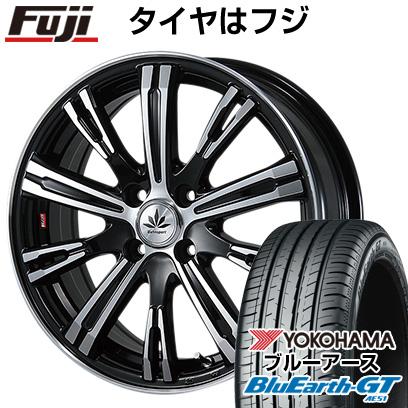 タイヤはフジ 送料無料 BLEST ブレスト バーンシュポルト タイプ525 5J 5.00-15 YOKOHAMA ブルーアース GT AE51 165/55R15 15インチ サマータイヤ ホイール4本セット