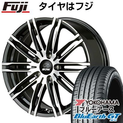 送料無料 215 45R17 17インチ YOKOHAMA 大幅値下げランキング ブルーアース GT AE51 サマータイヤ エクスカリバーライト 7J 希少 CLIMATE SUW ヨコハマ 取付対象 ホイール4本セット 7.00-17