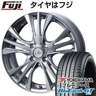 タイヤはフジ 送料無料 WEDS ウェッズ レオニス UC限定 5.5J 5.50-15 YOKOHAMA ブルーアース GT AE51 185/60R15 15インチ サマータイヤ ホイール4本セット