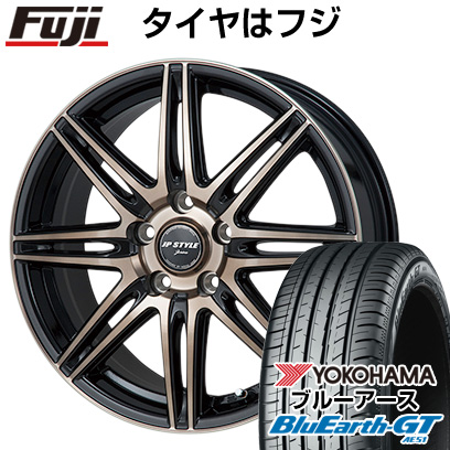 【取付対象】 【送料無料】 205/60R16 16インチ MONZA モンツァ JPスタイルジェリバ 6.5J 6.50-16 YOKOHAMA ヨコハマ ブルーアース GT AE51 サマータイヤ ホイール4本セット