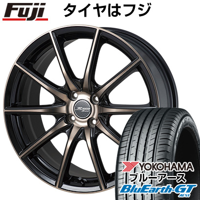 タイヤはフジ 送料無料 MONZA モンツァ Rバージョンスプリント 5.5J 5.50-15 YOKOHAMA ブルーアース GT AE51 185/60R15 15インチ サマータイヤ ホイール4本セット