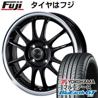 タイヤはフジ 送料無料 PIAA モトリズモTS-6 4.5J 4.50-15 YOKOHAMA ブルーアース GT AE51 165/55R15 15インチ サマータイヤ ホイール4本セット