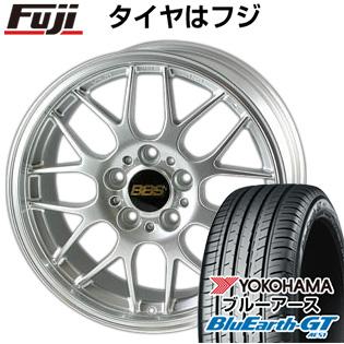 【送料無料】  BBS JAPAN BBS RG-R 8J 8.00-19 YOKOHAMA ブルーアース GT AE51 225/40R19 19インチ サマータイヤ ホイール4本セット