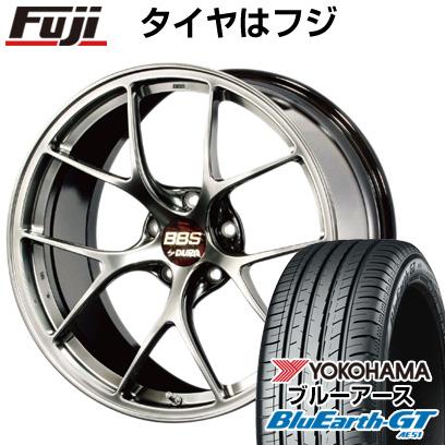【送料無料】  BBS JAPAN BBS RI-D 8.5J 8.50-19 YOKOHAMA ブルーアース GT AE51 245/35R19 19インチ サマータイヤ ホイール4本セット