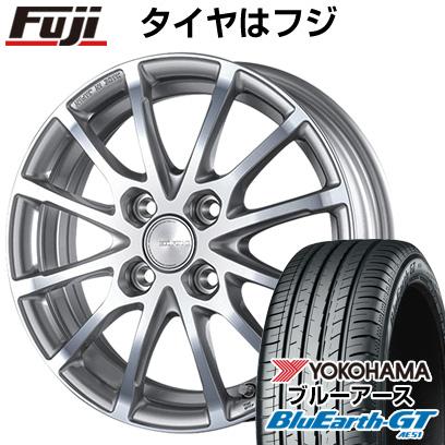 タイヤはフジ 送料無料 シエンタ 5穴/100 BRIDGESTONE ブリヂストン エコフォルム CRS/171 6J 6.00-15 YOKOHAMA ブルーアース GT AE51 185/60R15 15インチ サマータイヤ ホイール4本セット