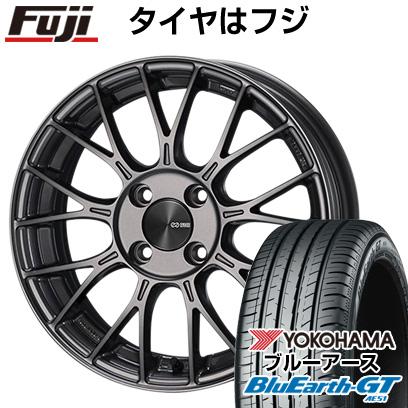 タイヤはフジ 送料無料 ENKEI エンケイ PFM1 5.5J 5.50-15 YOKOHAMA ブルーアース GT AE51 185/65R15 15インチ サマータイヤ ホイール4本セット
