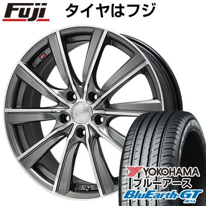 タイヤはフジ 送料無料 WEDS ウェッズ レオニス SL限定 6.5J 6.50-17 YOKOHAMA ブルーアース GT AE51 205/50R17 17インチ サマータイヤ ホイール4本セット