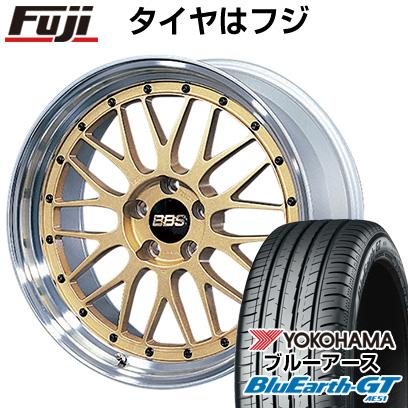 【取付対象】 【送料無料】 225/45R18 18インチ BBS JAPAN BBS LM 7.5J 7.50-18 YOKOHAMA ヨコハマ ブルーアース GT AE51 サマータイヤ ホイール4本セット