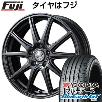 タイヤはフジ 送料無料 MID ファイナルスピード GR-ガンマ 6.5J 6.50-16 YOKOHAMA ブルーアース GT AE51 205/55R16 16インチ サマータイヤ ホイール4本セット