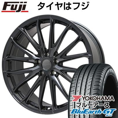 タイヤはフジ 送料無料 BRANDLE ブランドル 757B 7.5J 7.50-19 YOKOHAMA ブルーアース GT AE51 245/45R19 19インチ サマータイヤ ホイール4本セット