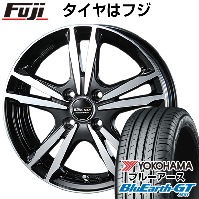 タイヤはフジ 送料無料 BLEST ブレスト バーンズテック ジゼリスFVP 5.5J 5.50-14 YOKOHAMA ブルーアース GT AE51 175/65R14 14インチ サマータイヤ ホイール4本セット