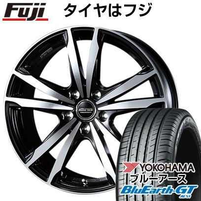 タイヤはフジ 送料無料 BLEST ブレスト バーンズテック ジゼリスFVP 6J 6.00-15 YOKOHAMA ブルーアース GT AE51 195/65R15 15インチ サマータイヤ ホイール4本セット