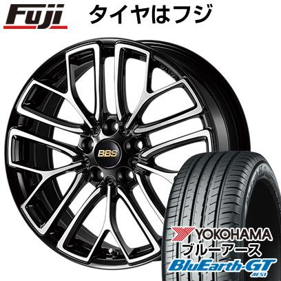 タイヤはフジ 送料無料 BBS JAPAN BBS RE-X 7.5J 7.50-18 YOKOHAMA ブルーアース GT AE51 215/40R18 18インチ サマータイヤ ホイール4本セット