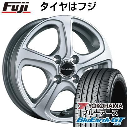 タイヤはフジ 送料無料 フリード 5穴/114 BRIDGESTONE ブリヂストン バルミナ ZR5 5.5J 5.50-15 YOKOHAMA ブルーアース GT AE51 185/65R15 15インチ サマータイヤ ホイール4本セット