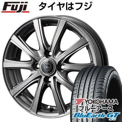 タイヤはフジ 送料無料 INTER MILANO インターミラノ クレール DG10 5.5J 5.50-14 YOKOHAMA ブルーアース GT AE51 175/65R14 14インチ サマータイヤ ホイール4本セット