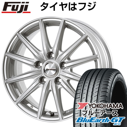 タイヤはフジ 送料無料 DUNLOP ダンロップ バロッソ WS12 6.5J 6.50-16 YOKOHAMA ブルーアース GT AE51 195/55R16 16インチ サマータイヤ ホイール4本セット