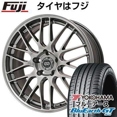 グランドセール タイヤはフジ 215/40R18 送料無料 ENKEI エンケイ EKM3 7.5J 7.50-18 7.50-18 YOKOHAMA ブルーアース GT GT AE51 215/40R18 18インチ サマータイヤ ホイール4本セット:アウトレット一番., 帽子のアトリエ:0f2049bc --- fricanospizzaalpine.com