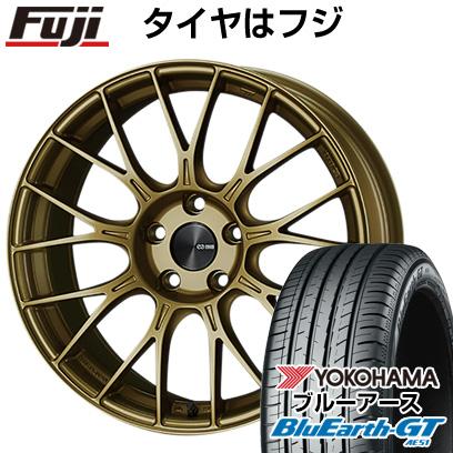タイヤはフジ 送料無料 ENKEI エンケイ PFM1 6.5J 6.50-16 YOKOHAMA ブルーアース GT AE51 195/50R16 16インチ サマータイヤ ホイール4本セット