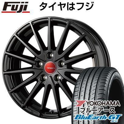 タイヤはフジ 送料無料 KOSEI コーセイ エアベルグ ゼノン 7J 7.00-18 YOKOHAMA ブルーアース GT AE51 225/45R18 18インチ サマータイヤ ホイール4本セット