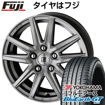 タイヤはフジ 送料無料 KYOHO 共豊 キョウホウ ザインSS 7J 7.00-17 YOKOHAMA ブルーアース GT AE51 205/50R17 17インチ サマータイヤ ホイール4本セット