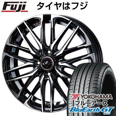7/25はエントリーでポイント15倍 タイヤはフジ 送料無料 WEDS ウェッズ レオニス SK 5.5J 5.50-15 YOKOHAMA ブルーアース GT AE51 175/65R15 15インチ サマータイヤ ホイール4本セット