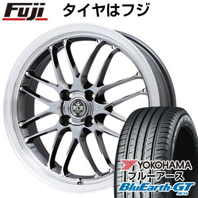 タイヤはフジ 送料無料 LEHRMEISTER レアマイスター ブルネッロ SBC/リムポリッシュ限定 6.5J 6.50-16 YOKOHAMA ブルーアース GT AE51 185/55R16 16インチ サマータイヤ ホイール4本セット