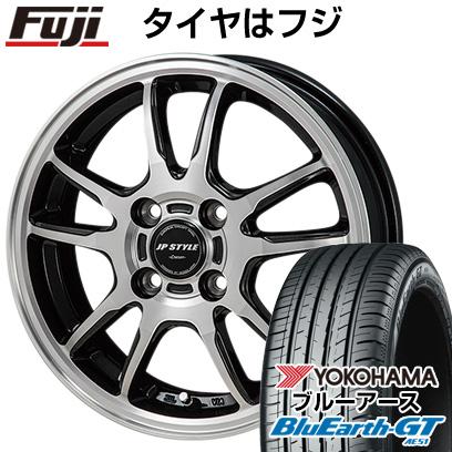 タイヤはフジ 送料無料 MONZA モンツァ JPスタイルクレーヴァ 4.5J 4.50-15 YOKOHAMA ブルーアース GT AE51 165/55R15 15インチ サマータイヤ ホイール4本セット
