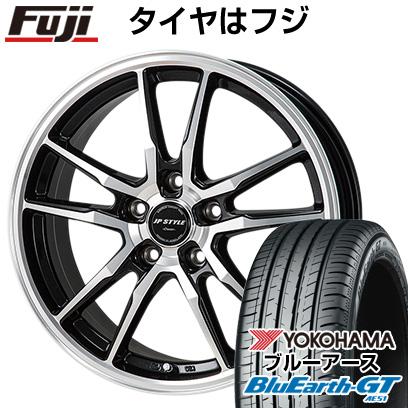 タイヤはフジ 送料無料 MONZA モンツァ JPスタイルクレーヴァ 6.5J 6.50-16 YOKOHAMA ブルーアース GT AE51 215/60R16 16インチ サマータイヤ ホイール4本セット