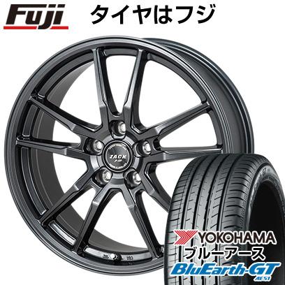 取付対象 送料無料 195 55R16 16インチ MONZA モンツァ ZACK JP-520 6.5J 6.50-16 YOKOHAMA ヨコハマ ブルーアース GT AE51 サマータイヤ ホイール4本セット