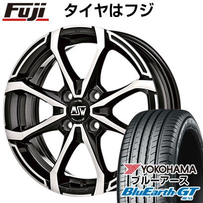 取付対象 送料無料 185 55R16 16インチ MSW by OZ Racing X4 限定モデル 6J バーゲンセール AE51 ホイール4本セット サマータイヤ YOKOHAMA GT ブルーアース ヨコハマ 6.00-16