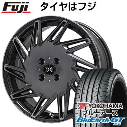 タイヤはフジ 送料無料 PREMIX プレミックス バリック ブラッククリア限定 6.5J 6.50-16 YOKOHAMA ブルーアース GT AE51 195/45R16 16インチ サマータイヤ ホイール4本セット