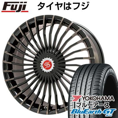 タイヤはフジ 送料無料 PREMIX プレミックス グラッパ f30 (ブロンズクリア) 7J 7.00-17 YOKOHAMA ブルーアース GT AE51 205/50R17 17インチ サマータイヤ ホイール4本セット
