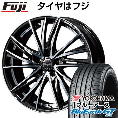 人気ブランドの タイヤはフジ 送料無料 TOPY トピー ドルフレン ビゲープ 7J 7.00-17 YOKOHAMA ブルーアース GT AE51 205/50R17 17インチ サマータイヤ ホイール4本セット, 18金ネックレスのゴールデンリバー 1816d7f7