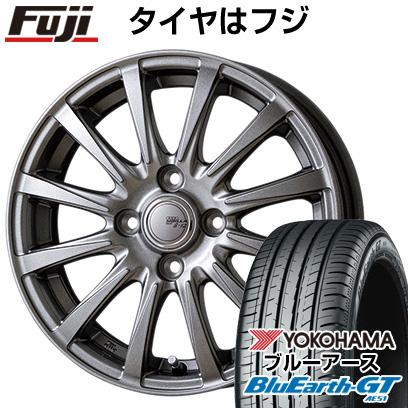 タイヤはフジ 送料無料 TOPY トピー シビラ NEXT B-12 5.5J 5.50-15 YOKOHAMA ブルーアース GT AE51 185/60R15 15インチ サマータイヤ ホイール4本セット