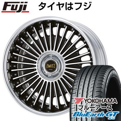タイヤはフジ 送料無料 WORK ワーク イミッツ イミッツ 8J 8.00-19 YOKOHAMA ブルーアース GT AE51 245/35R19 19インチ サマータイヤ ホイール4本セット