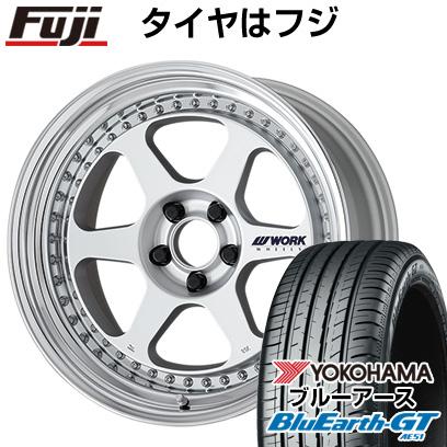 タイヤはフジ 送料無料 WORK ワーク マイスター L1 3P 8.5J 8.50-19 YOKOHAMA ブルーアース GT AE51 235/35R19 19インチ サマータイヤ ホイール4本セット