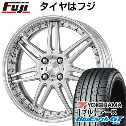 タイヤはフジ 送料無料 WORK ワーク リザルタード スポーク2 6.5J 6.50-16 YOKOHAMA ブルーアース GT AE51 185/55R16 16インチ サマータイヤ ホイール4本セット