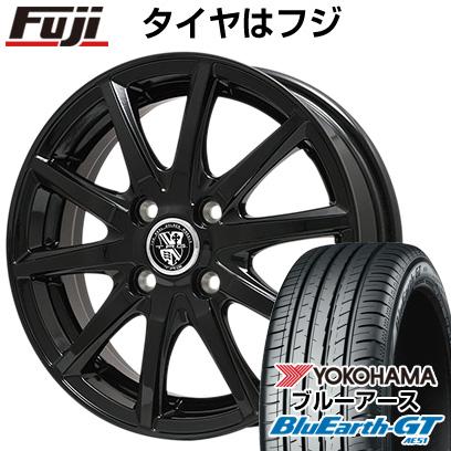タイヤはフジ 送料無料 BIGWAY ビッグウエイ TRG GB10 6J 6.00-16 YOKOHAMA ブルーアース GT AE51 185/55R16 16インチ サマータイヤ ホイール4本セット