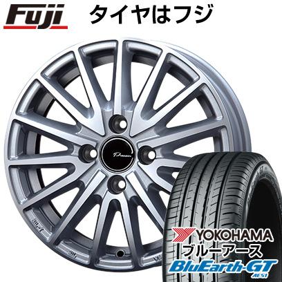 タイヤはフジ 送料無料 KOSEI コーセイ プラウザー アシュラ 5.5J 5.50-15 YOKOHAMA ブルーアース GT AE51 185/55R15 15インチ サマータイヤ ホイール4本セット