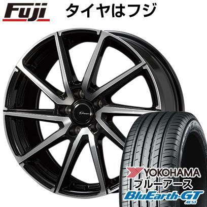 タイヤはフジ 送料無料 KOSEI コーセイ プラウザー レグラス 7J 7.00-17 YOKOHAMA ブルーアース GT AE51 215/55R17 17インチ サマータイヤ ホイール4本セット