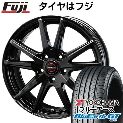タイヤはフジ 送料無料 BLEST ブレスト ユーロマジック ランスST 7J 7.00-17 YOKOHAMA ブルーアース GT AE51 225/55R17 17インチ サマータイヤ ホイール4本セット