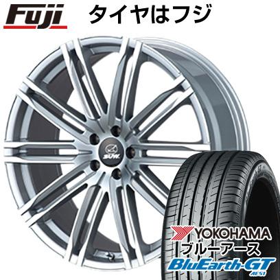 タイヤはフジ 送料無料 CLIMATE SUW エクスカリバー限定 8J 8.00-19 YOKOHAMA ブルーアース GT AE51 225/40R19 19インチ サマータイヤ ホイール4本セット