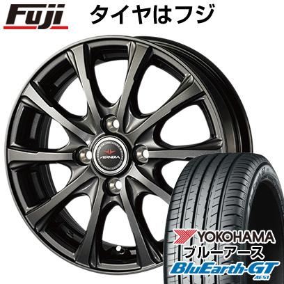 タイヤはフジ 送料無料 DUNLOP ダンロップ エアノヴァ SB10 5.5J 5.50-15 YOKOHAMA ブルーアース GT AE51 185/55R15 15インチ サマータイヤ ホイール4本セット